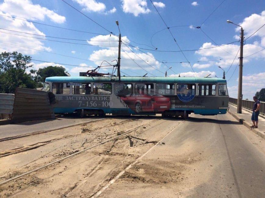 """На Плехановской снова """"дрифтовал"""" трамвай (ФОТО), фото-1"""