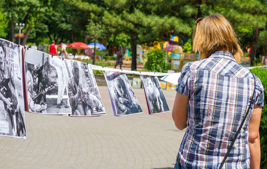 В Запорожье прошла выставка дворняжек: фоторепортаж Алексея Толмачева, фото-18