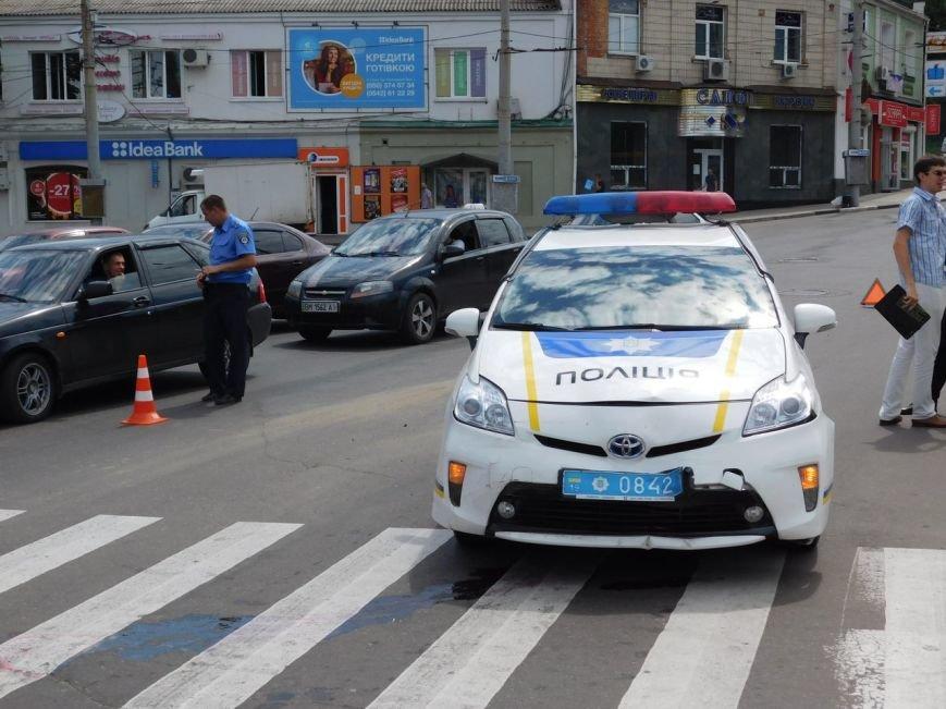 В Сумах ДТП с участием новой полиции (ФОТО), фото-2