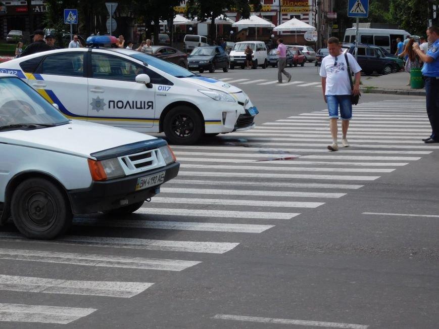 В Сумах ДТП с участием новой полиции (ФОТО), фото-4