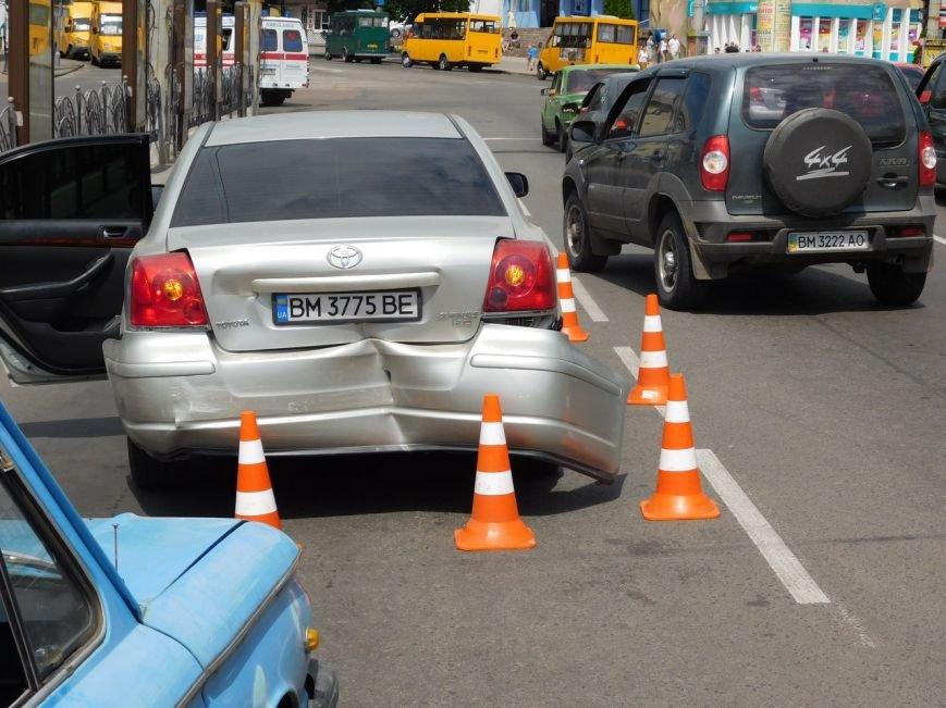 В Сумах ДТП с участием новой полиции (ФОТО), фото-3