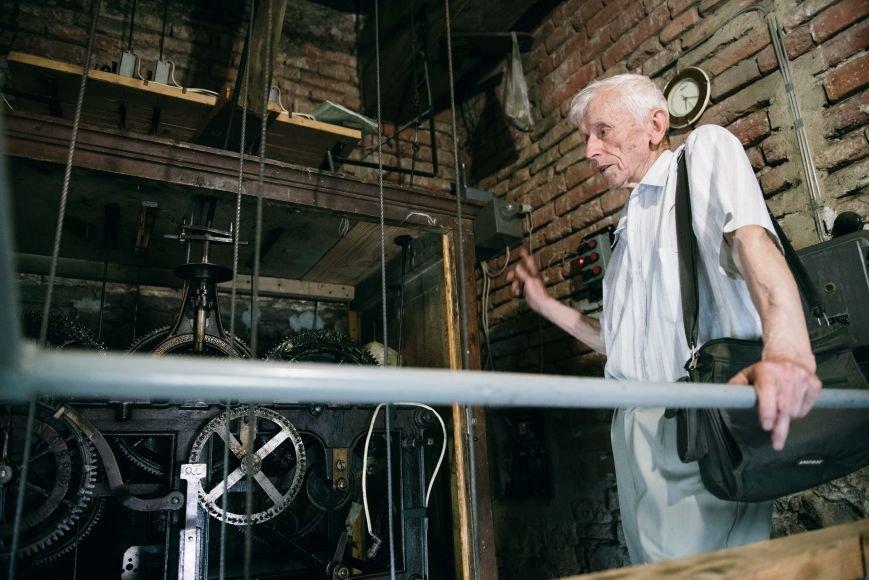«Коли виникає несправність, відповідь приходить уві сні», - каже 77-річний годинникар ужгородського Кафедрального собору, фото-8