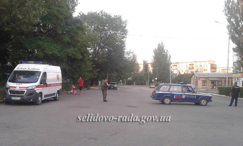 Мешканці Селидового ходили із факелами по місту, фото-5
