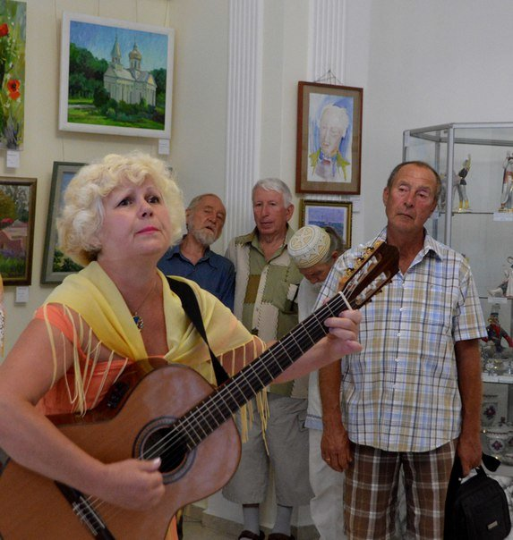 Художники запечатлели Черноморск на 40 картинах, фото-1