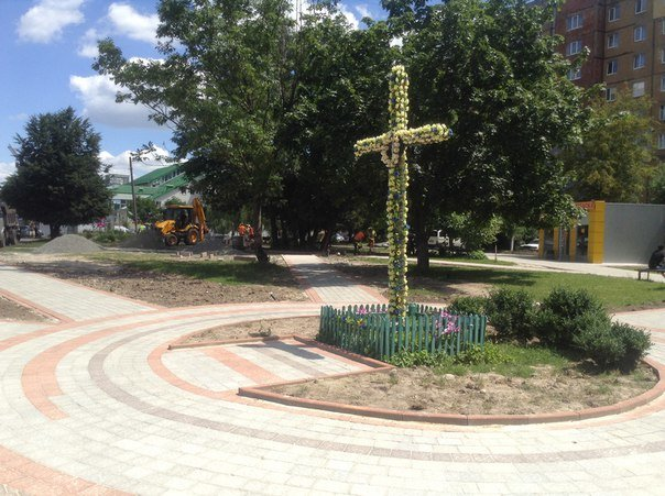 Громадський простір на вулиці Чукаріна облаштують за 1 млн. 400 тис. гривень (ФОТО), фото-8