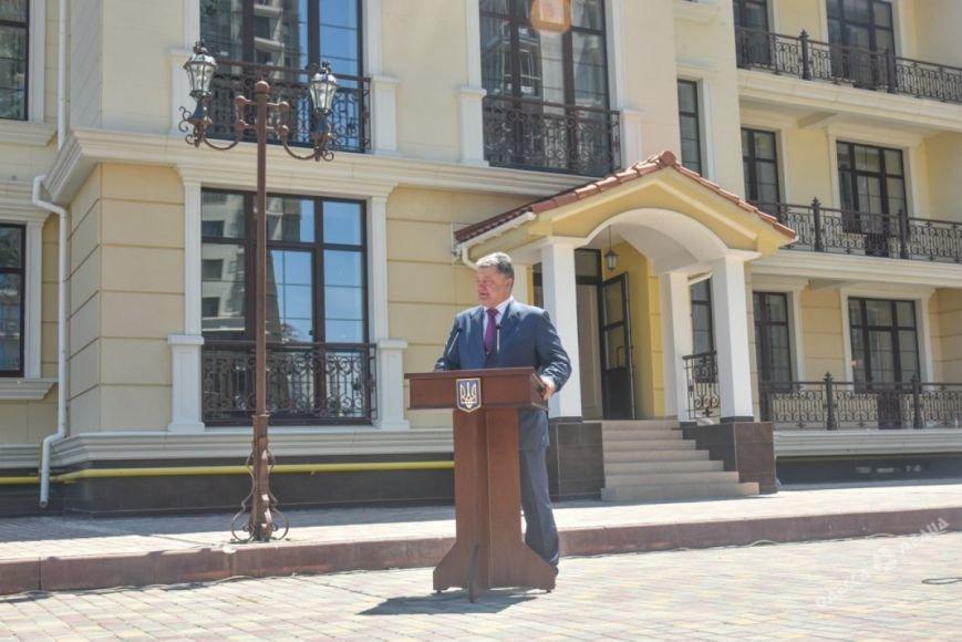 Визит Порошенко в Одессу: что осталось за кадром (фото), фото-3