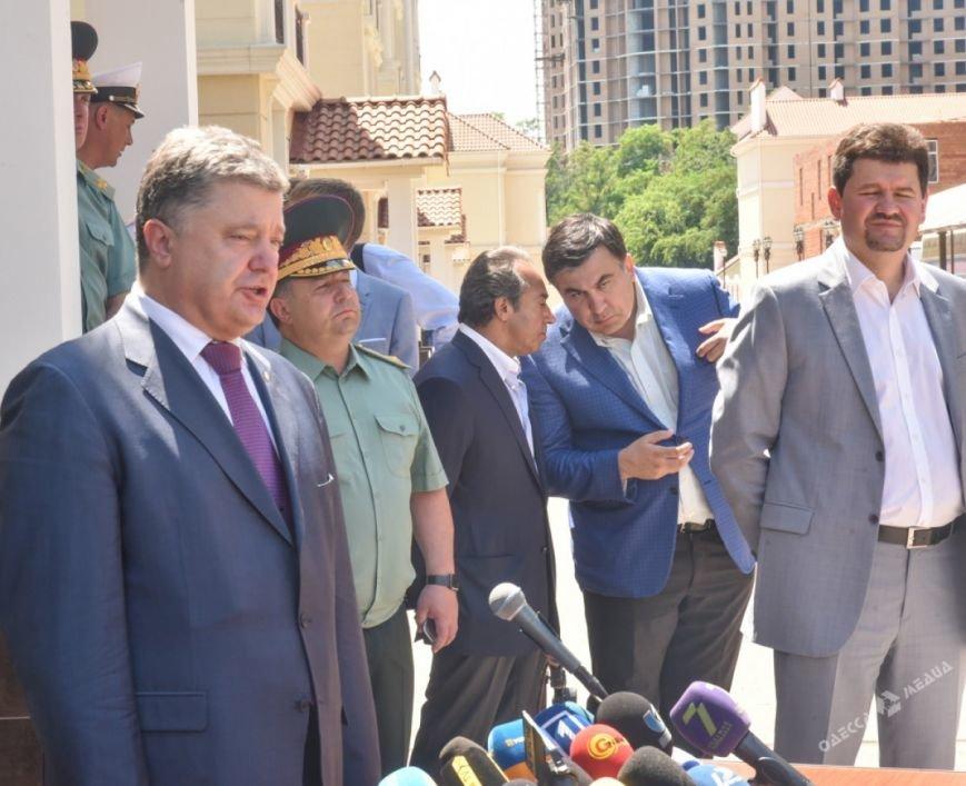 Визит Порошенко в Одессу: что осталось за кадром (фото), фото-5