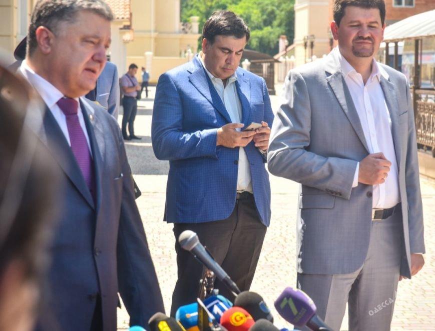 Визит Порошенко в Одессу: что осталось за кадром (фото), фото-4