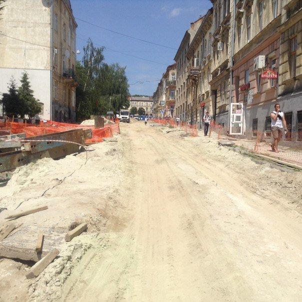 Як у Львові проводять ремонтні роботи на вулиці Мечникова (ФОТО), фото-10