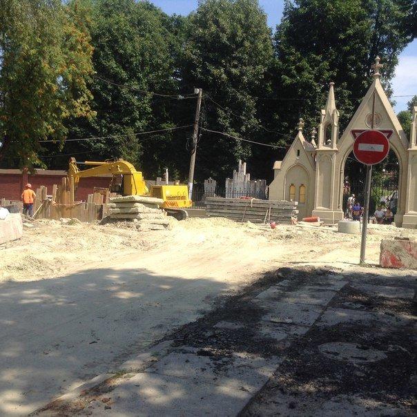 Як у Львові проводять ремонтні роботи на вулиці Мечникова (ФОТО), фото-5