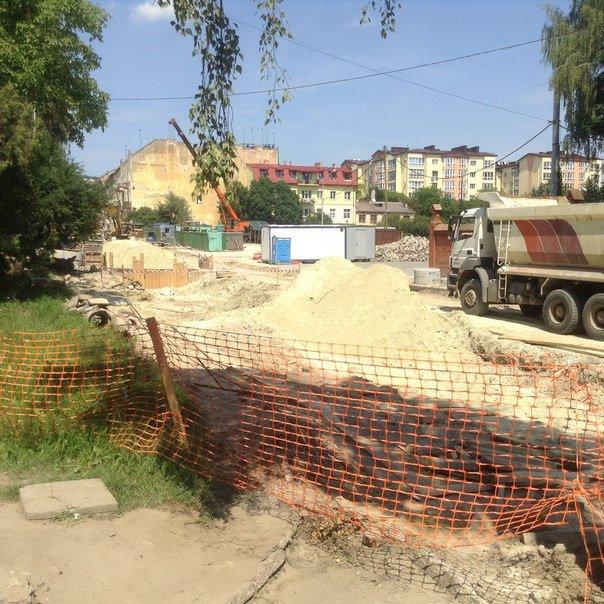 Як у Львові проводять ремонтні роботи на вулиці Мечникова (ФОТО), фото-8