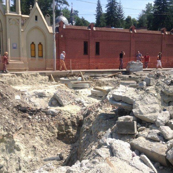 Як у Львові проводять ремонтні роботи на вулиці Мечникова (ФОТО), фото-1