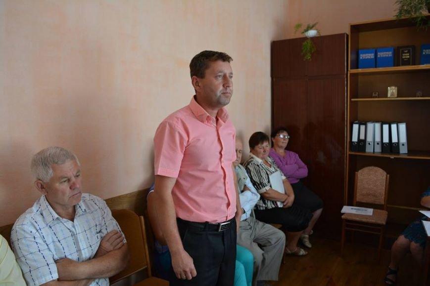 Голова Новоград-Волинської районної ради Дмитро Рудницький прийняв участь в позачерговій сесії Колодянської сільської ради, фото-2