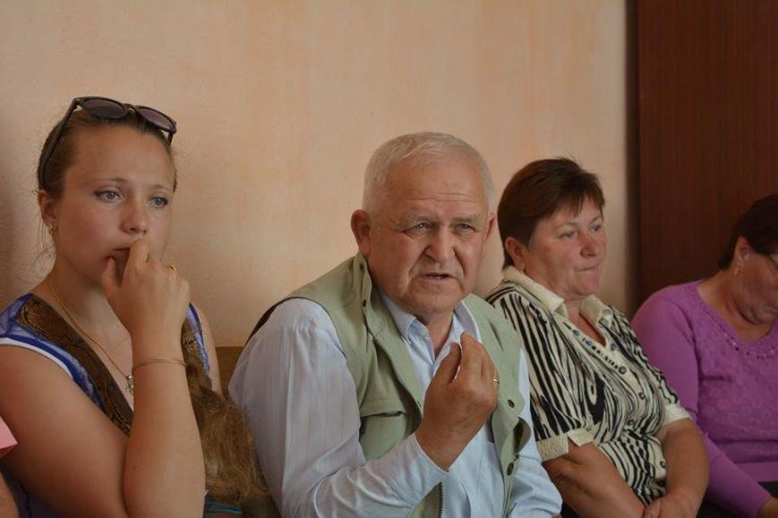 Голова Новоград-Волинської районної ради Дмитро Рудницький прийняв участь в позачерговій сесії Колодянської сільської ради, фото-1