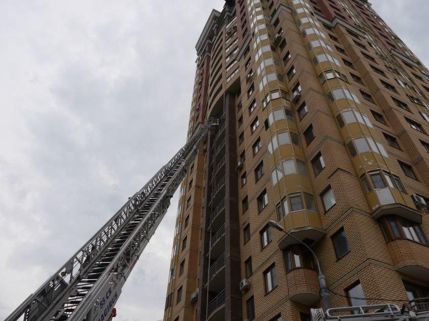В Новой Москве случился пожар на 24 этаже дома, фото-2