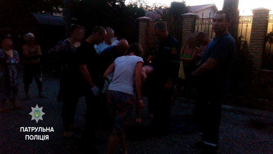 Запорожские патрульные спасли бездомную собаку (ФОТО), фото-2