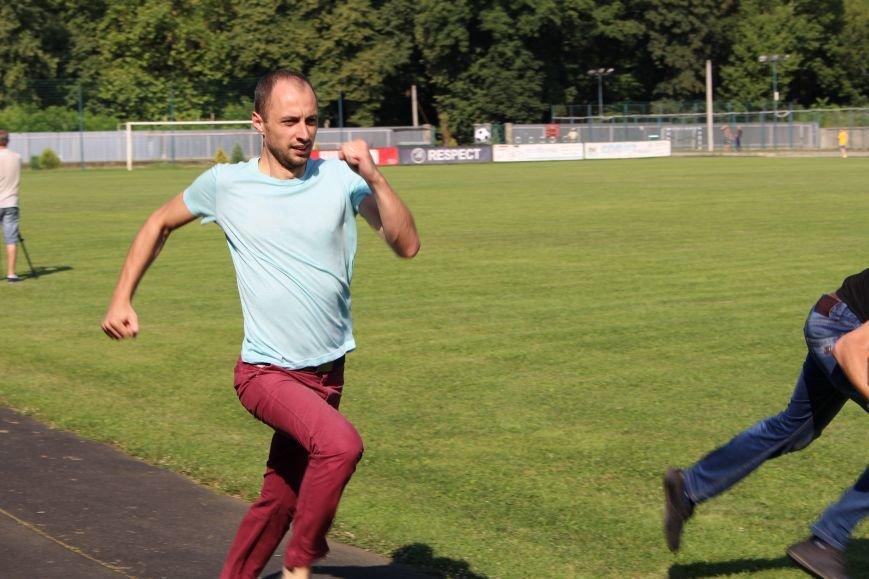 За скільки ужгородські патрульні бігають 100 метрів: фоторепортаж, фото-6