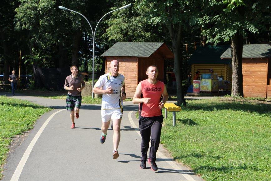 За скільки ужгородські патрульні бігають 100 метрів: фоторепортаж, фото-5