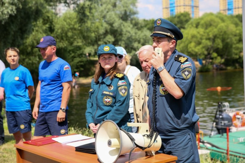 Команда МЧС ТиНАО заняла призовое место в конкурсе спасателей, фото-2