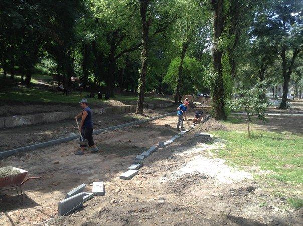 Як у Львові триває реконструкція території поблизу державного цирку (ФОТО), фото-1