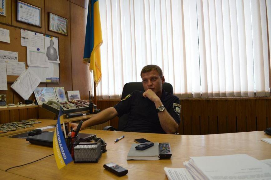Роман Пилипенко о портрете Бандеры в кабинете, курьезных вызовах и будущем велопатруле, фото-2