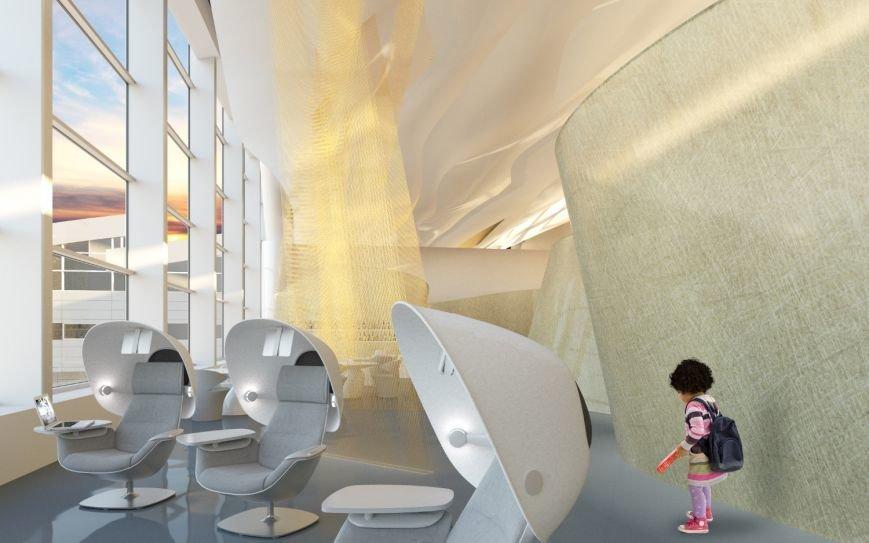 Стало известно как будут выглядеть бизнес-залы нового аэропорта Ростова, фото-4