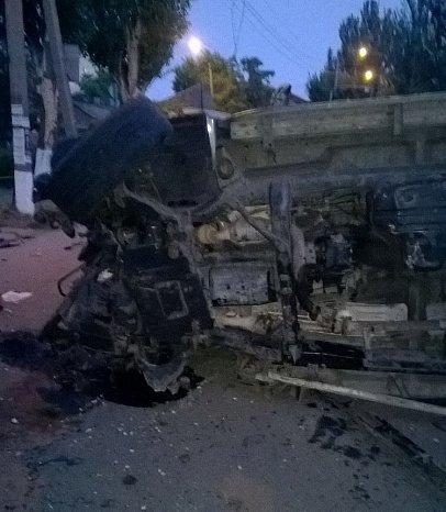 В Бердянске столкнулись два внедорожника, в одном из них ехали полицейские (ФОТО), фото-3