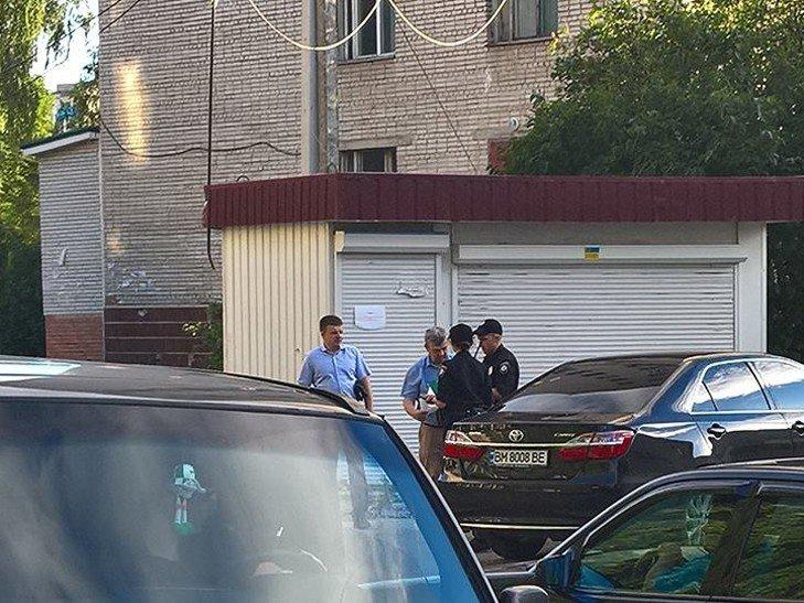 Судью Сумского райсуда оштрафовали за неправильную парковку (ФОТО), фото-1
