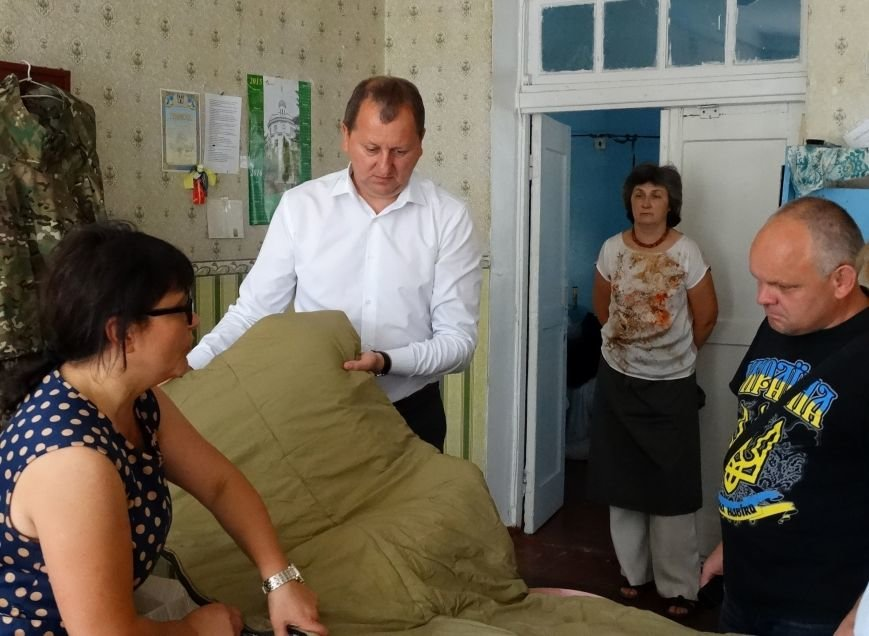 Мэр Сум встретился с волонтерами СББ «Тыл» (ФОТО), фото-2