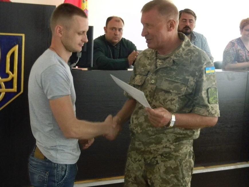 Шестеро запорожских АТОшников получили награды от Президента, фото-3