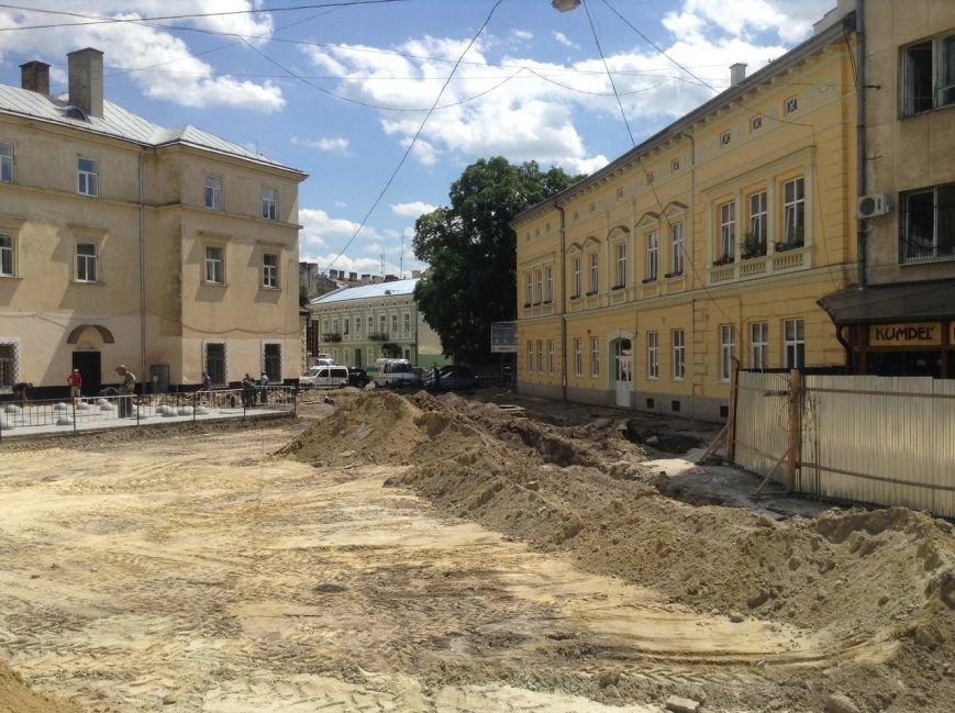 Як у Львові тривають роботи з реконструкції площі Митної (ФОТО), фото-1