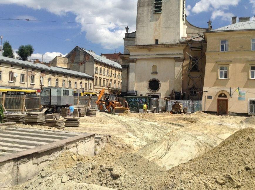 Як у Львові тривають роботи з реконструкції площі Митної (ФОТО), фото-3
