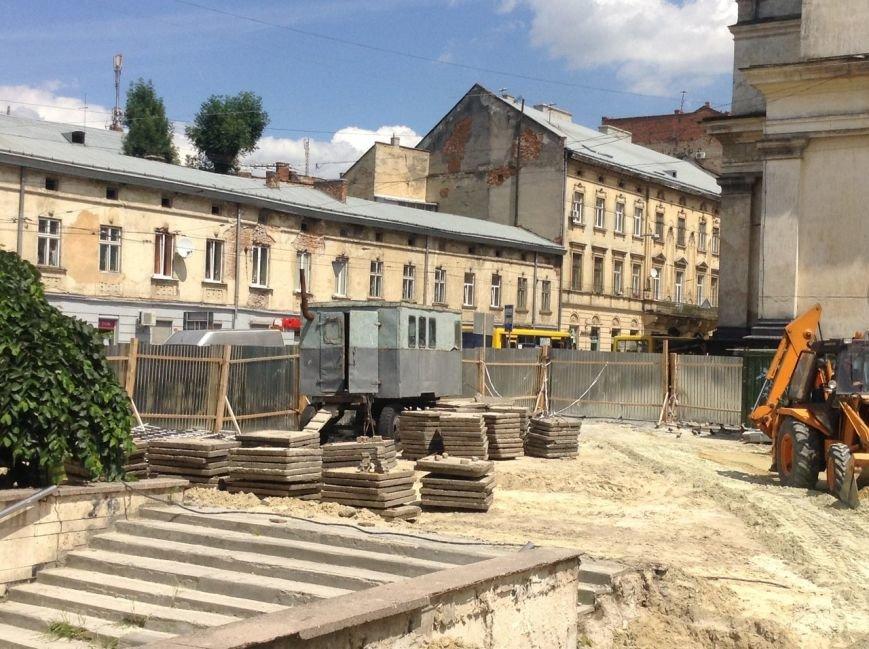 Як у Львові тривають роботи з реконструкції площі Митної (ФОТО), фото-4