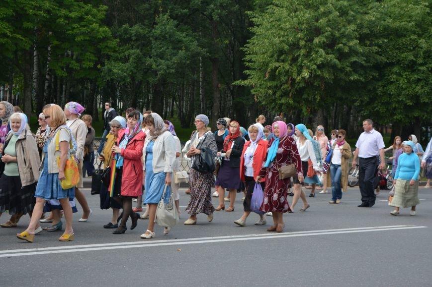 Фотофакт: в Новополоцке состоялся крестный ход с иконой Божией Матери, фото-8