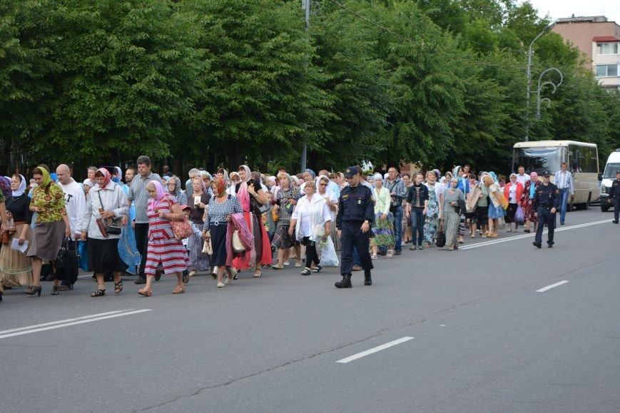Фотофакт: в Новополоцке состоялся крестный ход с иконой Божией Матери, фото-5