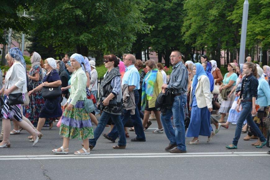 Фотофакт: в Новополоцке состоялся крестный ход с иконой Божией Матери, фото-6