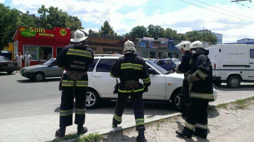В Кировограде патрульные и спасатели предотвратили уничтожение автомобиля. ФОТО, фото-2