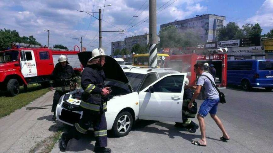 В Кировограде патрульные и спасатели предотвратили уничтожение автомобиля. ФОТО, фото-1