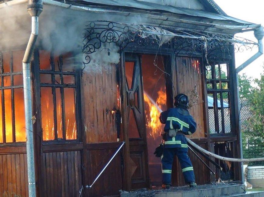 Як палав старовинний храм у передмісті Франківська (ФОТО), фото-6