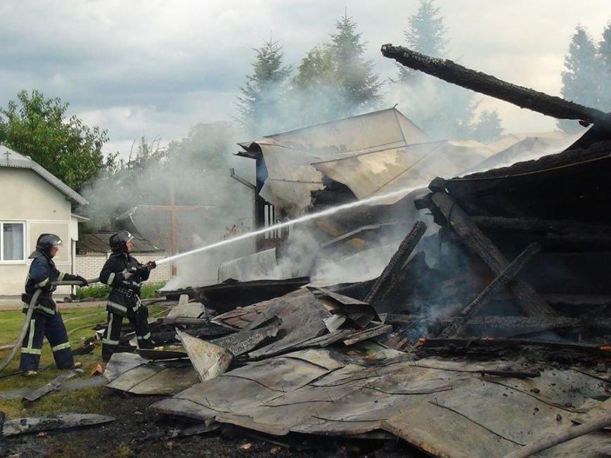 Як палав старовинний храм у передмісті Франківська (ФОТО), фото-9