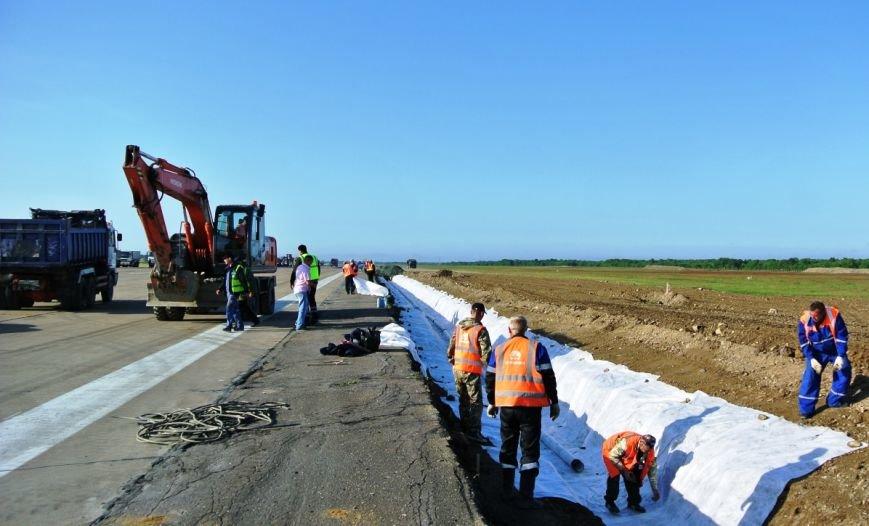 Осенью закончится ремонт взлетно-посадочной полосы в аэропорту Южно-Сахалинска, фото-1