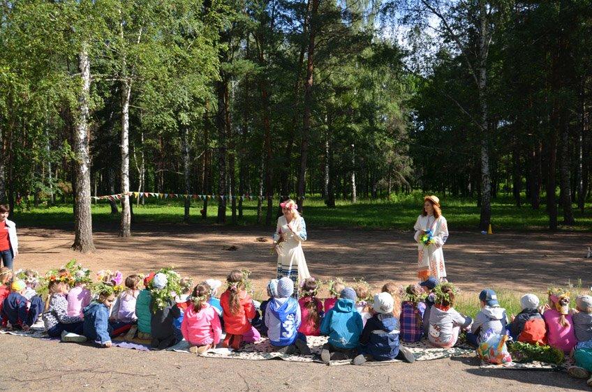 Купалинка и Купалиш, Леший и Кикимора: как нечистая сила вмешалась  в празднование Купалья в Новополоцке, фото-3