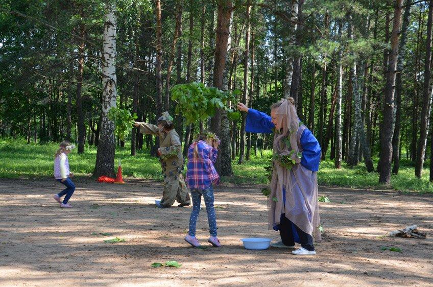 Купалинка и Купалиш, Леший и Кикимора: как нечистая сила вмешалась  в празднование Купалья в Новополоцке, фото-10