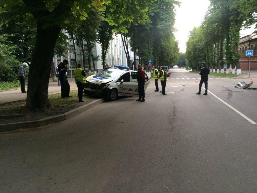 В Сумах снова ДТП с участием новой полиции (ФОТО), фото-1