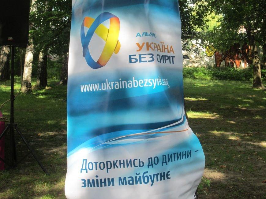 До Новограда-Волинського прибули учасники кругосвітнього велопробігу «Світ без сиріт», фото-14