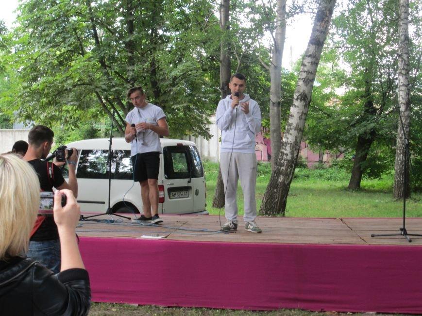 До Новограда-Волинського прибули учасники кругосвітнього велопробігу «Світ без сиріт», фото-10