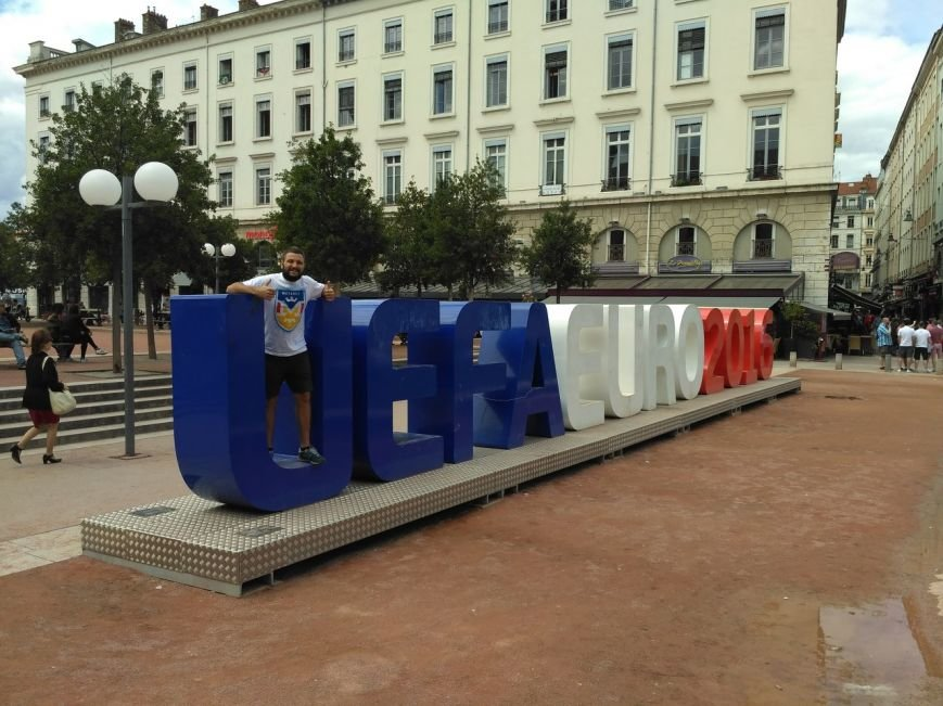 """""""Это самое сумасшедшее, что я делал в своей жизни"""": харьковчанин поехал на """"Евро-2016"""" на велосипеде (ФОТО), фото-1"""