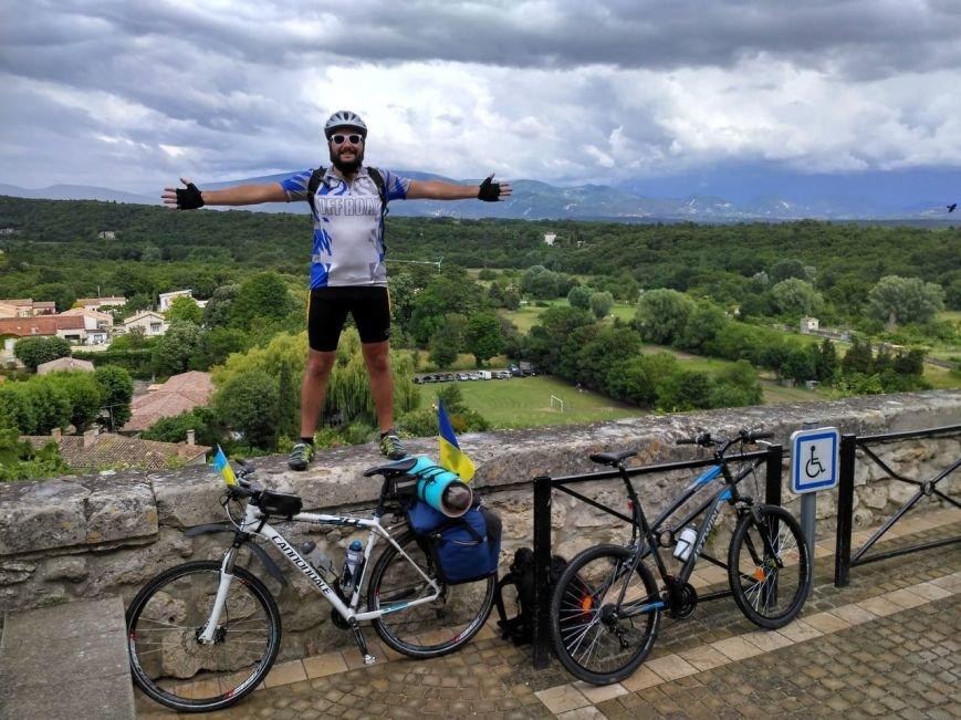 """""""Это самое сумасшедшее, что я делал в своей жизни"""": харьковчанин поехал на """"Евро-2016"""" на велосипеде (ФОТО), фото-3"""