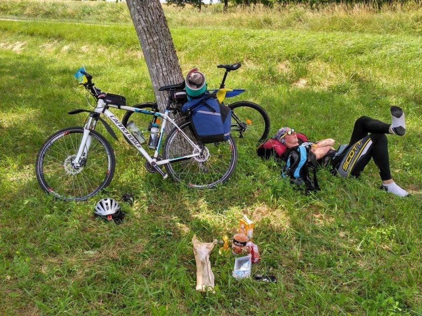 """""""Это самое сумасшедшее, что я делал в своей жизни"""": харьковчанин поехал на """"Евро-2016"""" на велосипеде (ФОТО), фото-2"""