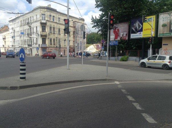 Небезпечну ділянку дороги на перетині вул. Під Дубом та просп. Чорновола розширять (ФОТО), фото-1